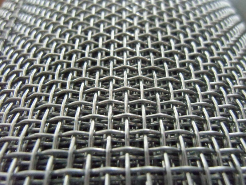 Wire mesh for industrial use GALVANIZED SQUARE WIRE MESH by TTM Rossi
