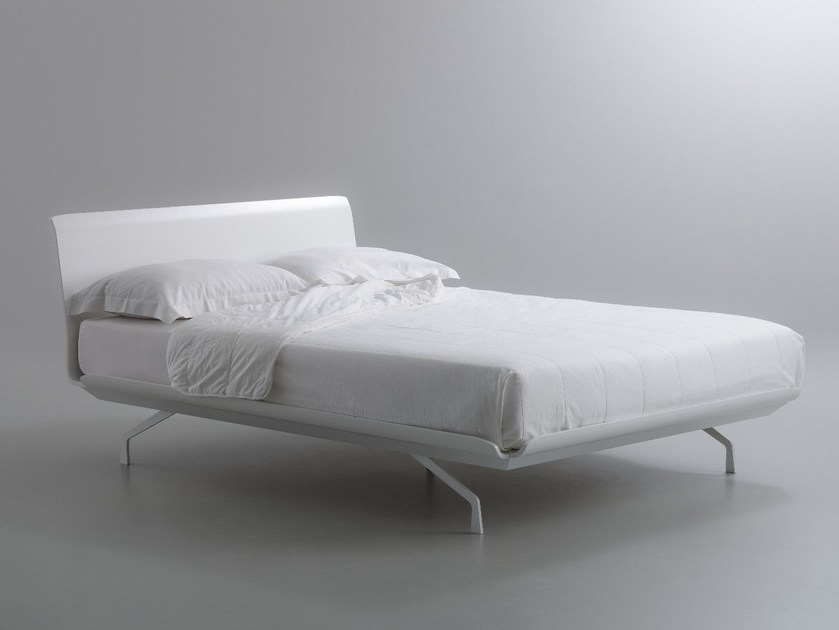Metal double bed TELEMARK | Double bed by iCarraro