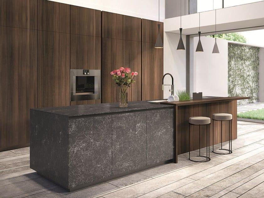 TELERO | Küche aus Feinsteinzeug By Euromobil Design Roberto ...