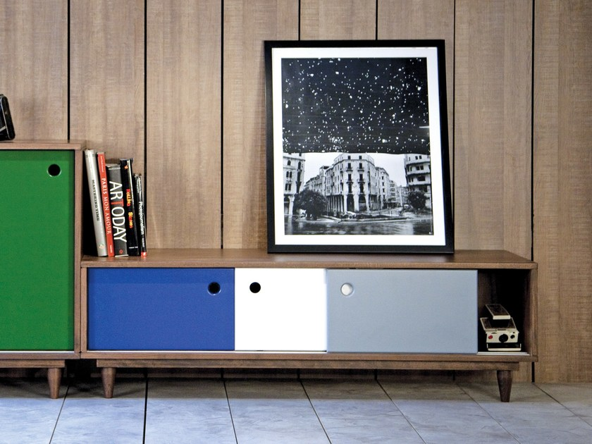 Sideboard with sliding doors TELFAZ | Sideboard by Kann Design