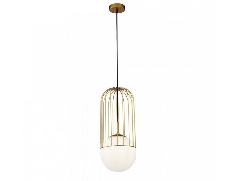 Glass pendant lamp TELFORD by MAYTONI