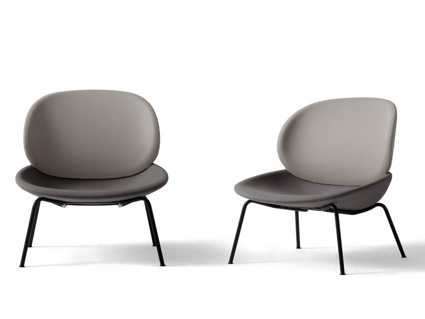 Luca Nichetto Design.Upholstered Fabric Easy Chair Tellin By Arflex Design Luca