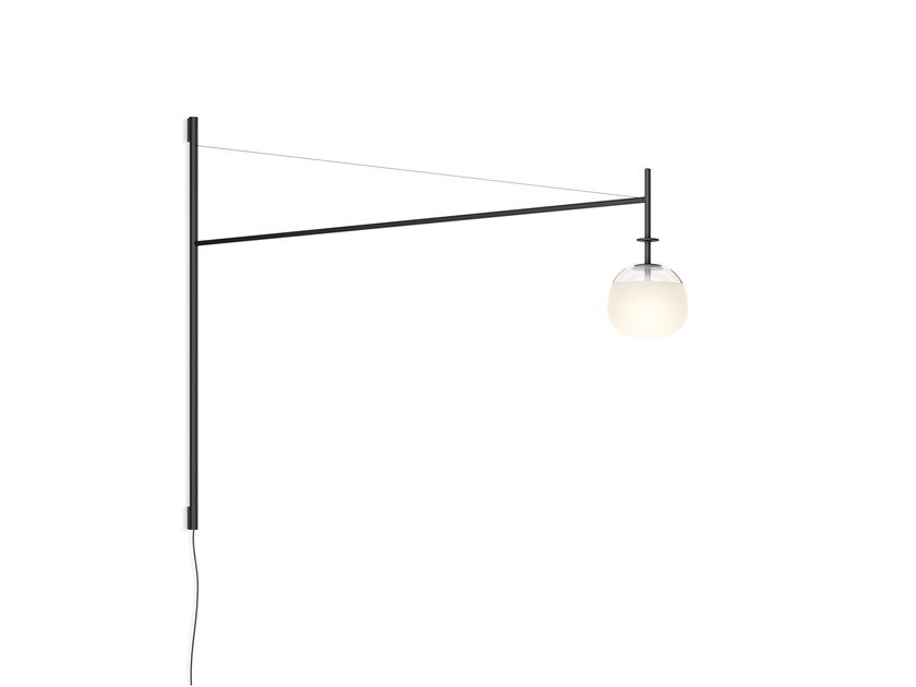 LED direct light steel plug lamp TEMPO 5758_5759 by Vibia