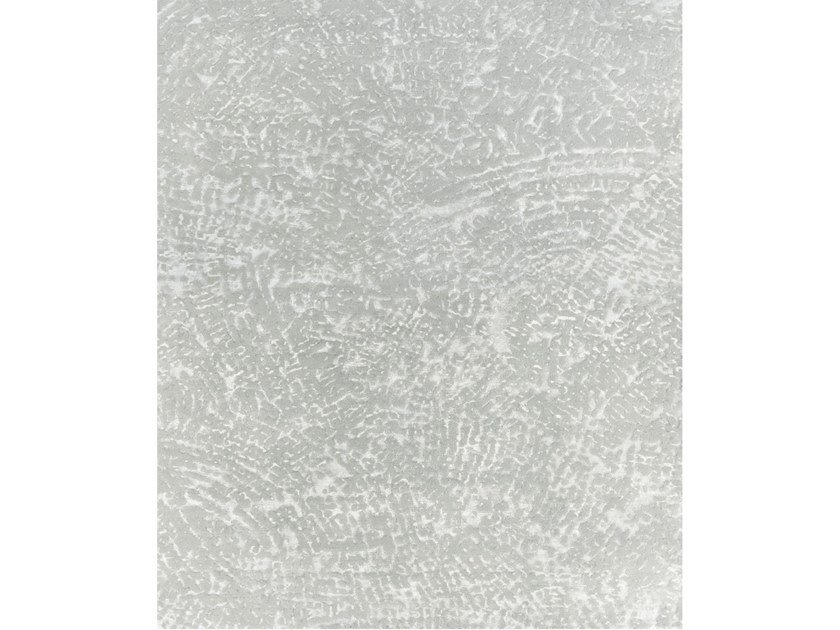 Handmade rectangular rug TEN GREY by Tapis Rouge