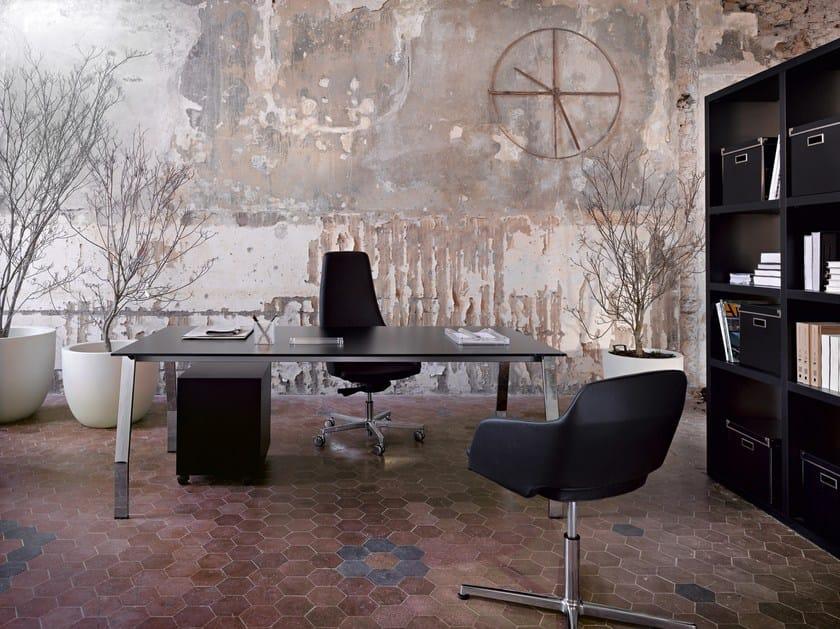 Rectangular executive desk TEN UP EXECUTIVE by Sinetica