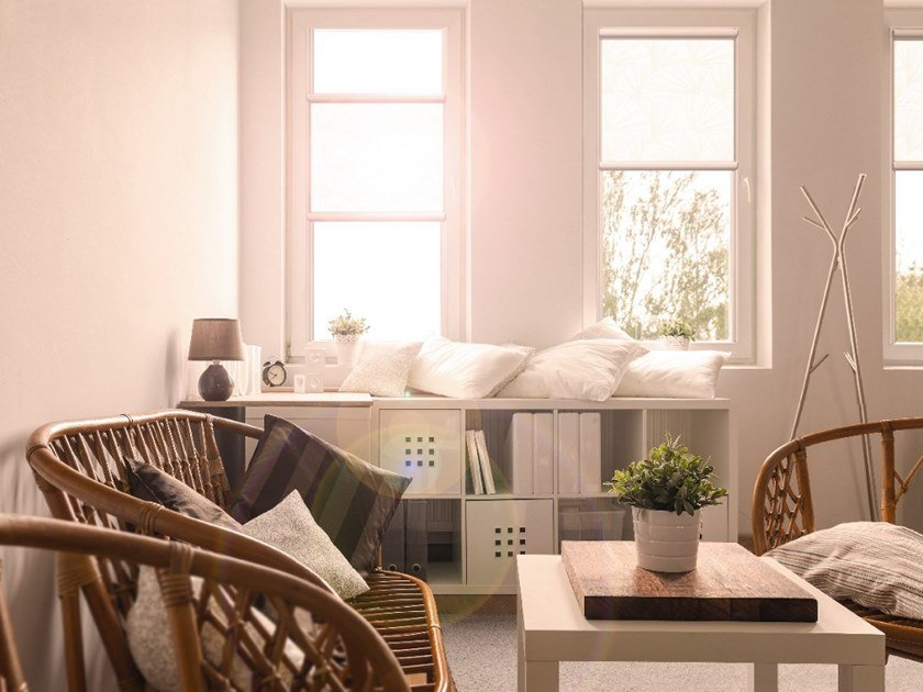 Sun protection roller blind GLASS PROFILE ROLLER BLINDS by WAREMA