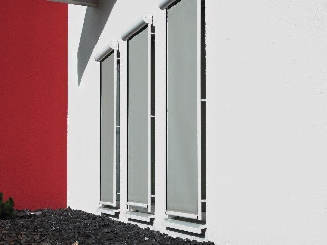 Roller blind FACADE AWNINGS by WAREMA