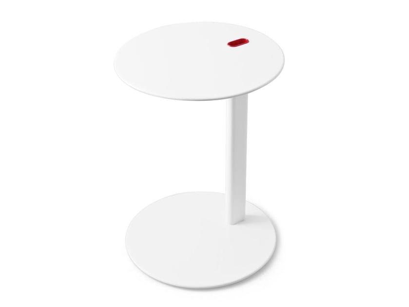 Metal side table TENDER by Calligaris