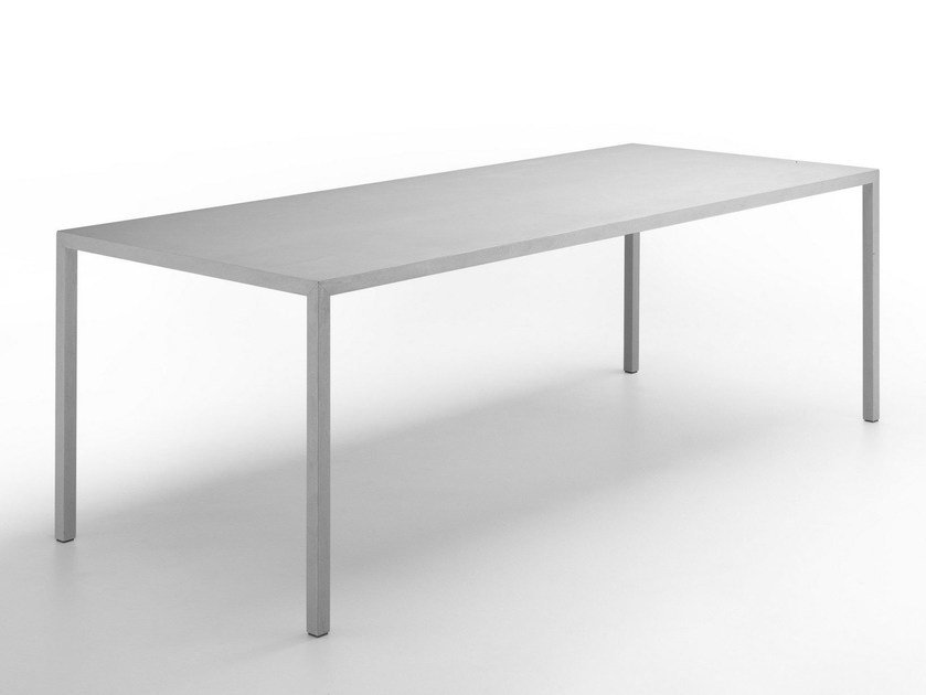 Rectangular Stone Table TENSE MATERIAL | Stone Table By MDF Italia