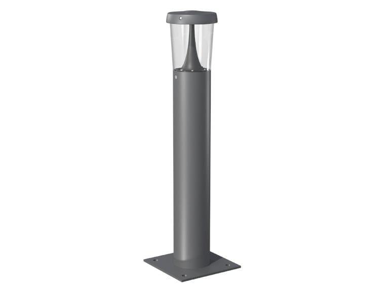 Paletto luminoso a LED in acciaio per spazi pubblici TEO | Paletto luminoso by GHM-ECLATEC