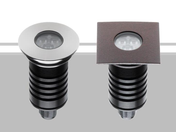 Segnapasso a LED a pavimento TERA 6 by Flexalighting