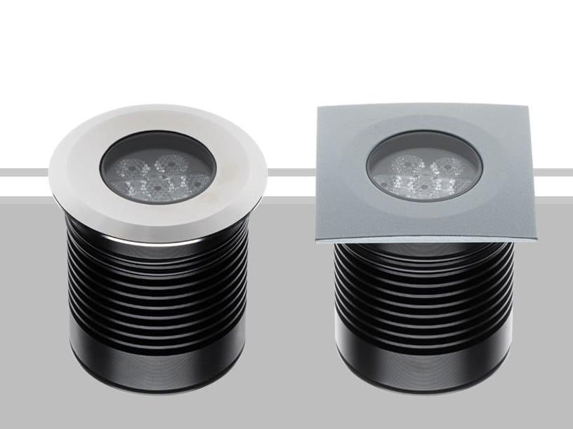 Segnapasso a LED a pavimento TERA 7 by Flexalighting