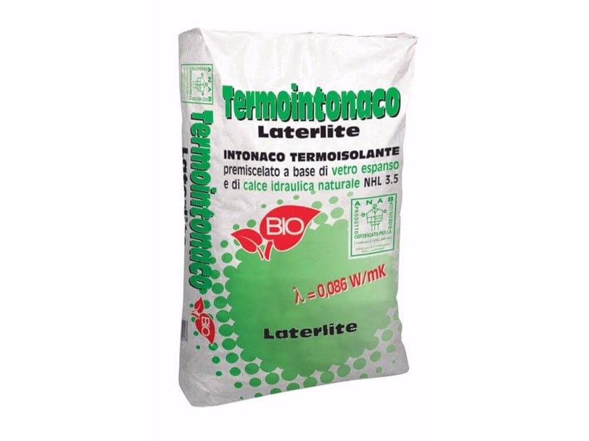 Thermal insulating plaster TERMOINTONACO LATERLITE by Laterlite