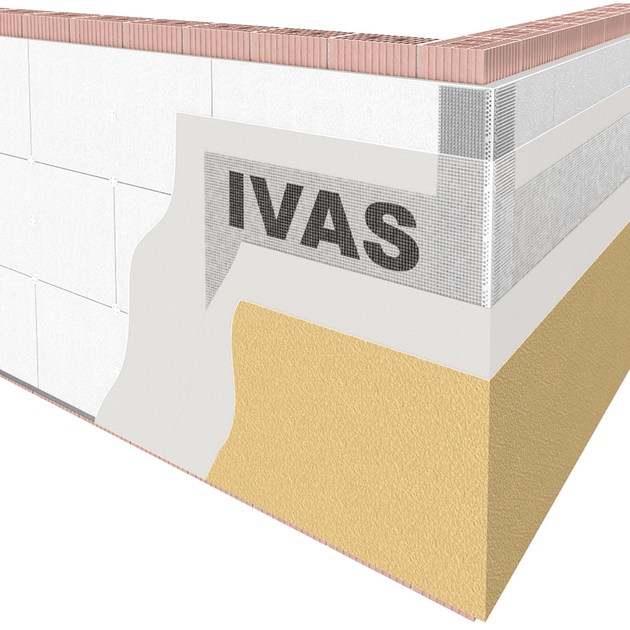 Sistema per isolamento a cappotto TermoK8® HP by Ivas Vernici