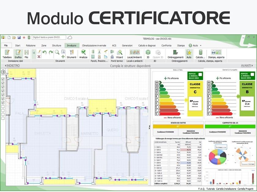 TERMOLOG - Modulo CERTIFICATORE