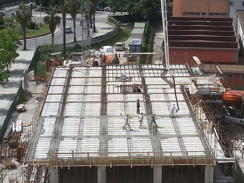 Insulating Formwork For Reinforced Concrete Slabs Termosolaio By