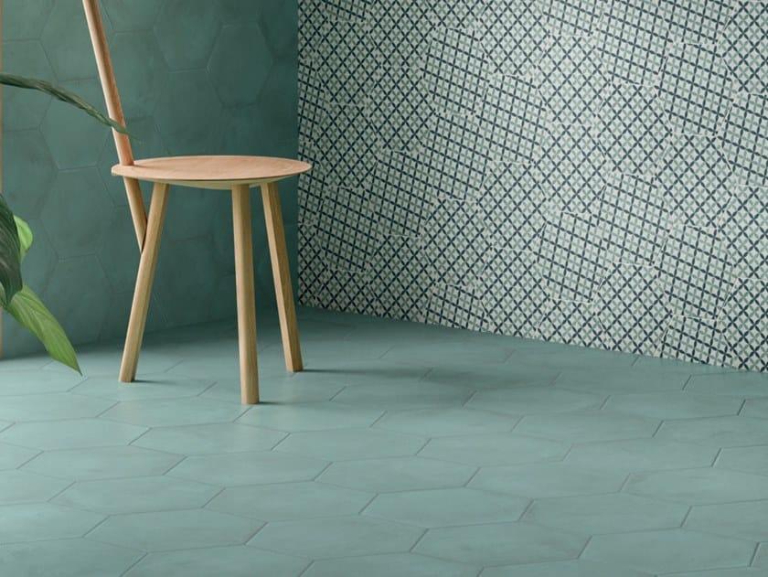 Pavimento/rivestimento in gres porcellanato per interni TERRA.ART CIELO by Marca Corona