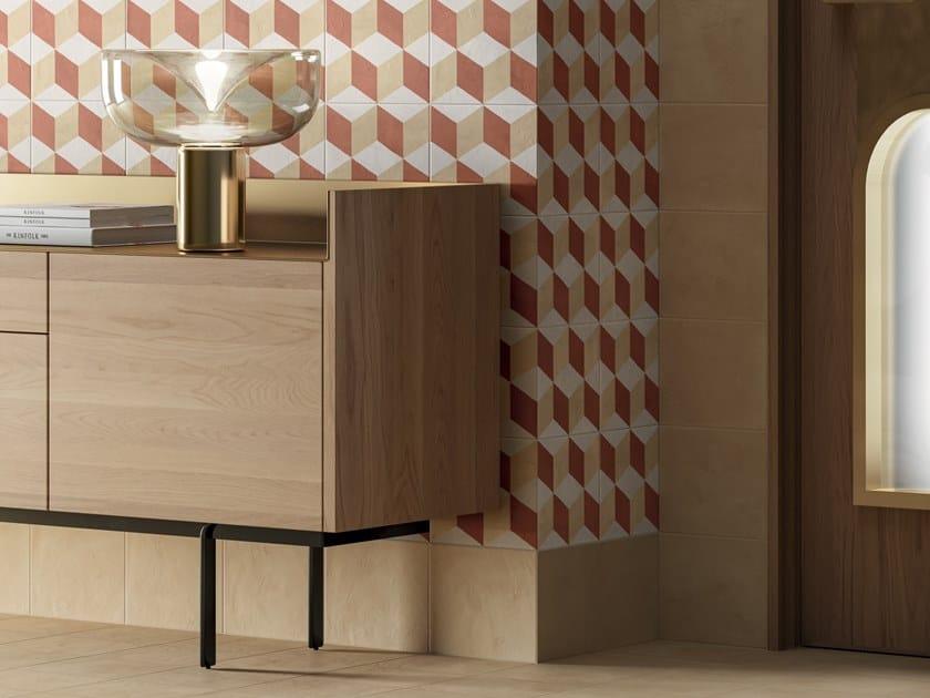 Pavimento/rivestimento in gres porcellanato per interni TERRA.ART CREMA by Marca Corona