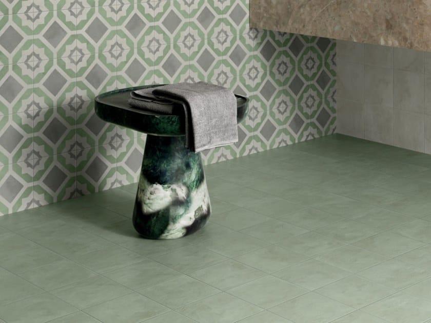 Pavimento/rivestimento in gres porcellanato per interni TERRA.ART MENTA by Marca Corona