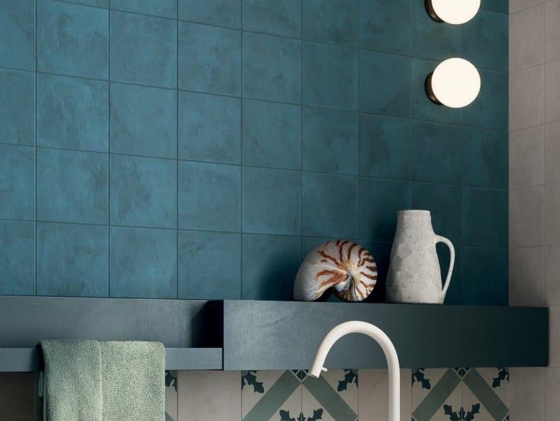 Pavimento/rivestimento in gres porcellanato per interni TERRA.ART OCEANO by Marca Corona