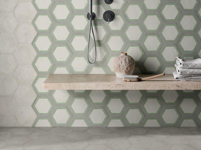 Pavimento/rivestimento in gres porcellanato per interni TERRA.ART SABBIA by Marca Corona