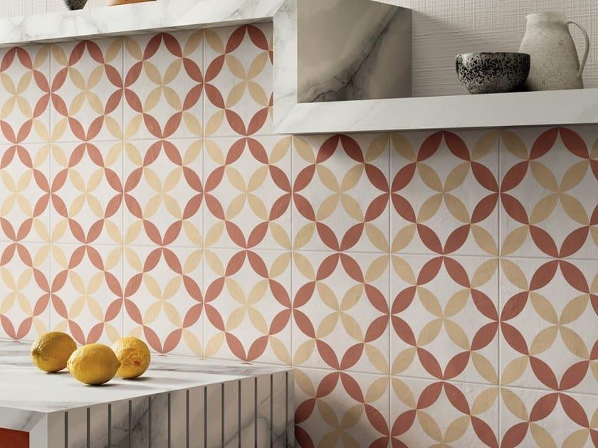 Pavimento/rivestimento in gres porcellanato per interni TERRA.ART TRAMONTO by Marca Corona