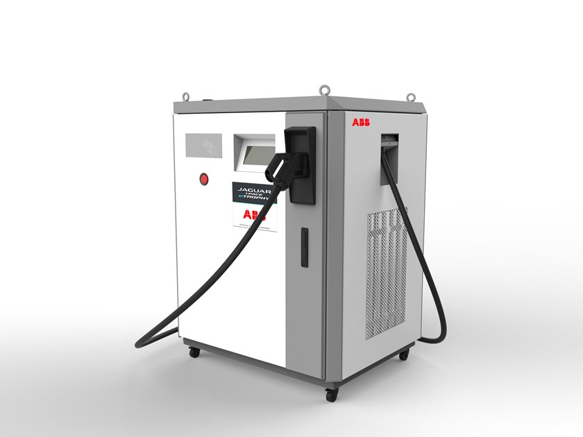 Power distribution unit for cars TERRA DC by ABB