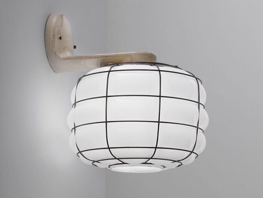 Murano glass wall lamp TERRA EB 420 by Siru