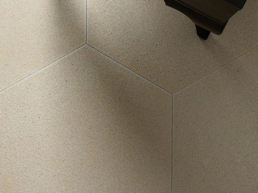 Indoor natural stone wall/floor tiles TERRA ESAGONO GREIGE by TWS