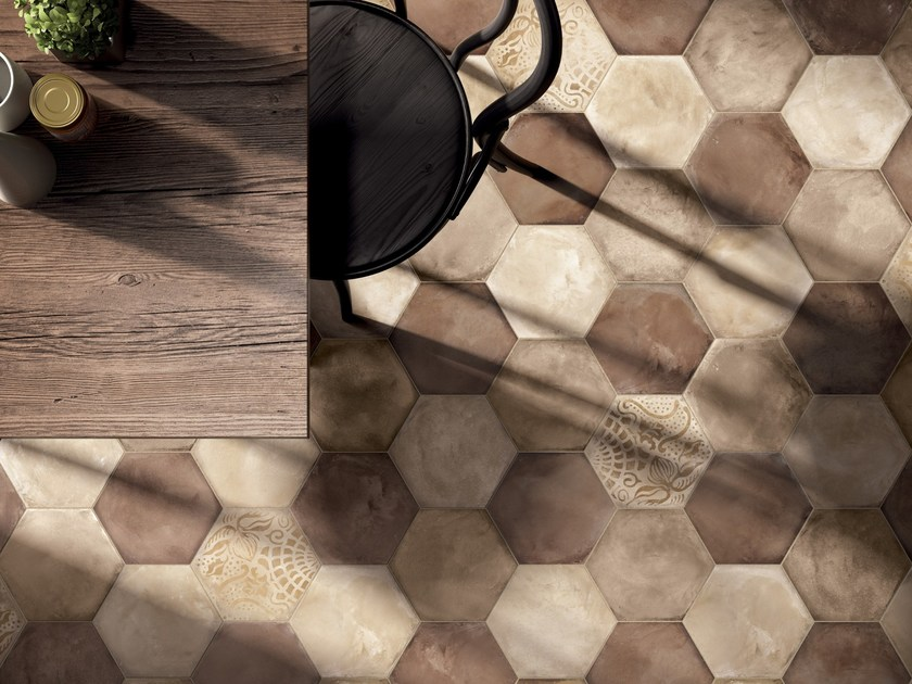 Full-body porcelain stoneware wall/floor tiles TERRA - OCRA Terra