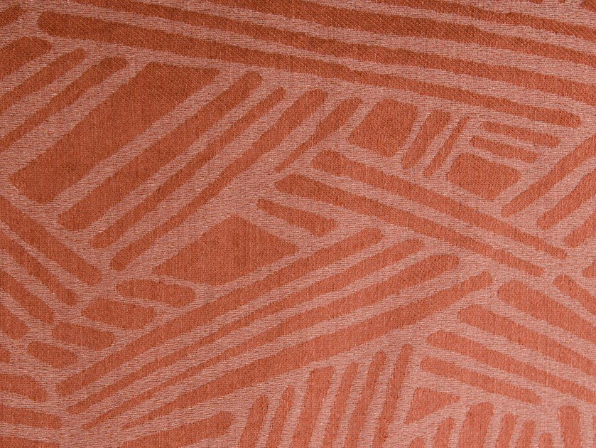Washable fabric for curtains TERRACOTTA by Aldeco