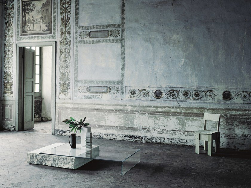 Italia Rettangolare Glas Terraliquida Tavolino Basso CBoerdx