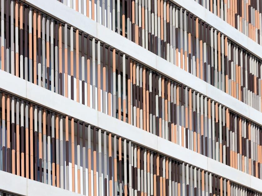 Terracotta Ventilated facade TERRART®- BAGUETTE by NBK
