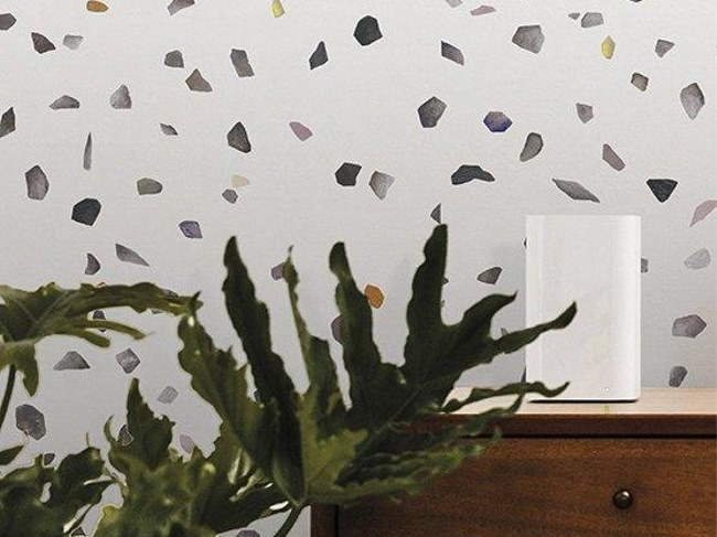 Motif non-woven paper wallpaper TERRAZZO L by Isidore Leroy