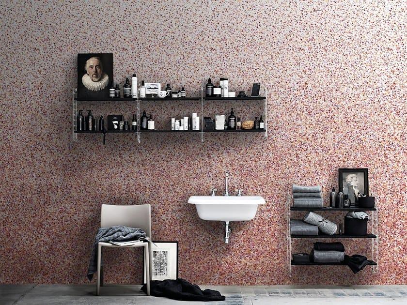 Motif non-woven paper wallpaper strip TERRAZZO by Isidore Leroy