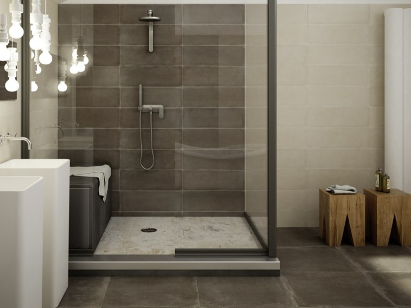 Porcelain stoneware wall/floor tiles TERRE by Iris Ceramica