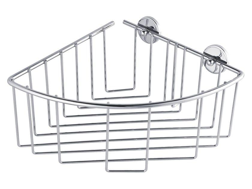 Wall-mounted adhesive metal soap dish for shower TESA® BAATH 40217 by tesa®