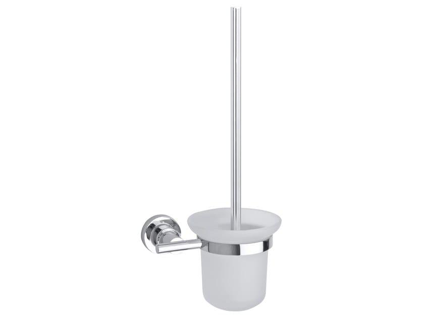 Adhesive wall-mounted glass toilet brush TESA® LUUP 40289 by tesa®