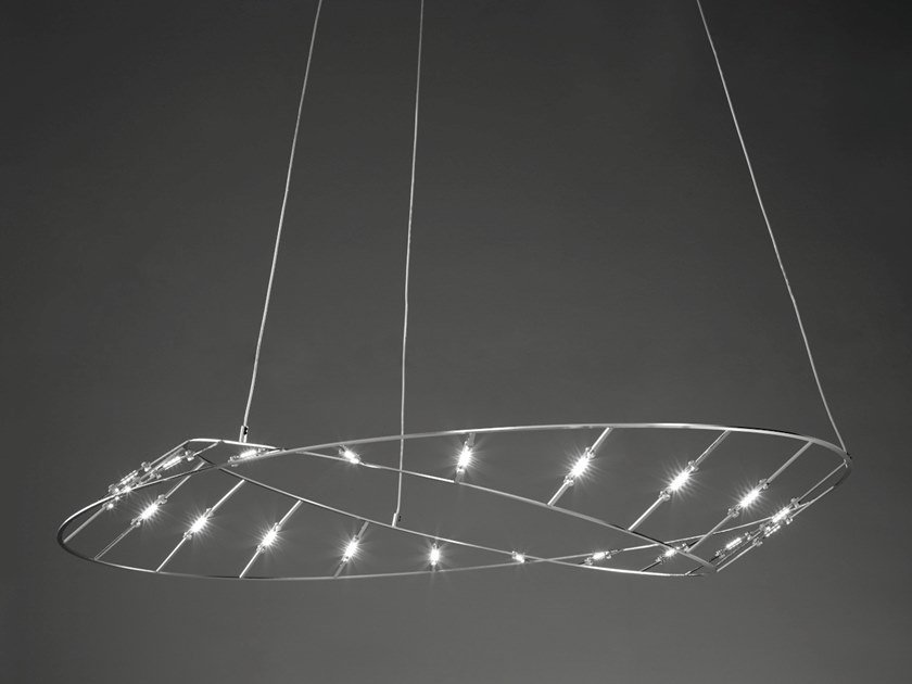LED steel pendant lamp TESA MINI | Pendant lamp by Urban