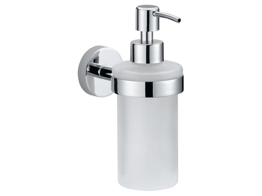 Adhesive wall-mounted liquid soap dispenser TESA® SMOOZ 40323 by tesa®
