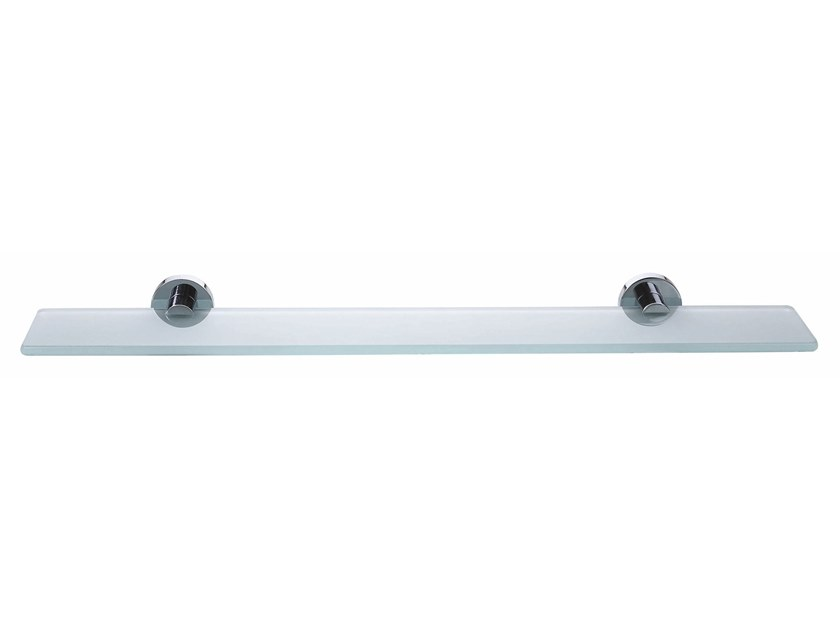 super popular c55ce 8389a Adhesive glass bathroom wall shelf TESA® SMOOZ 40326 By ...