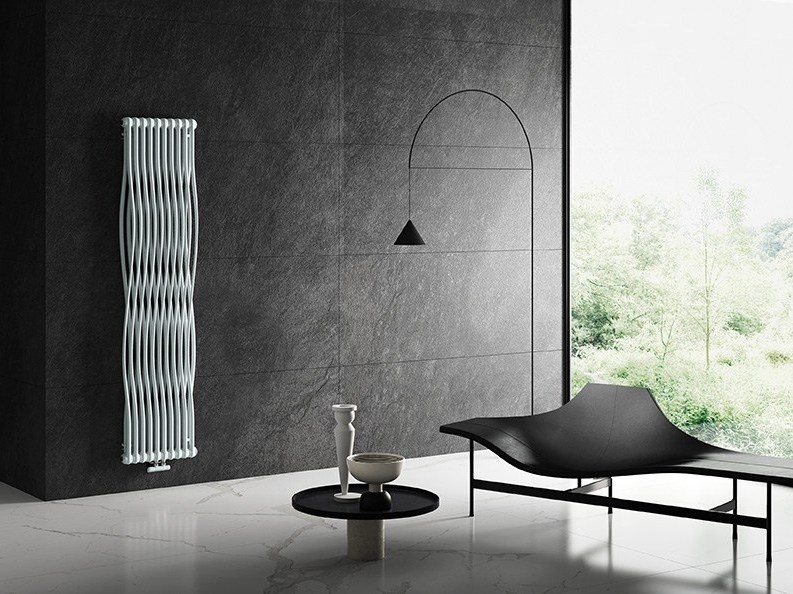 Wall mounted steel decorative radiator tesi join by irsap