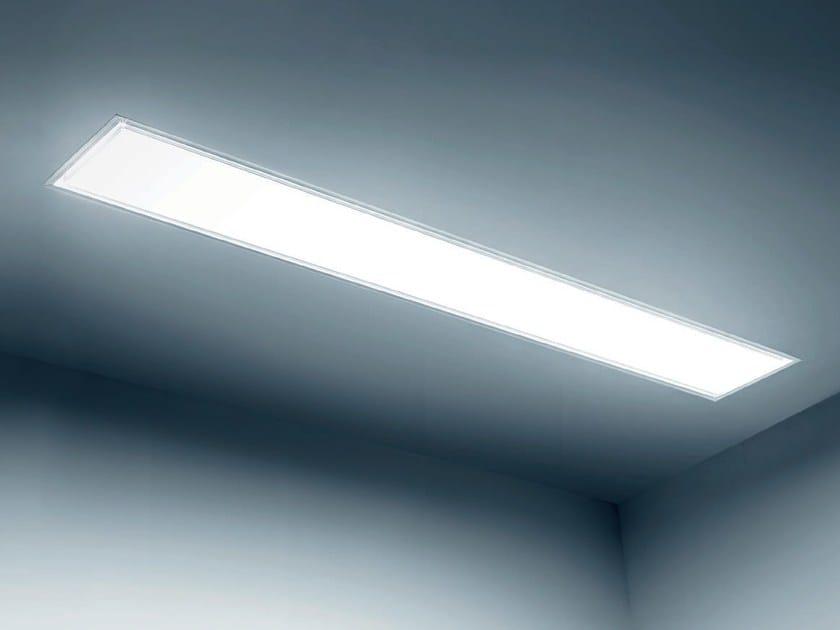 Recessed die cast aluminium ceiling lamp TESIS | Recessed ceiling lamp by PLEXIFORM