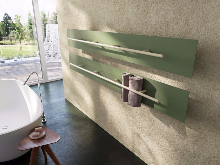 Wall-mounted towel warmer TESO COLOUR by ANTRAX
