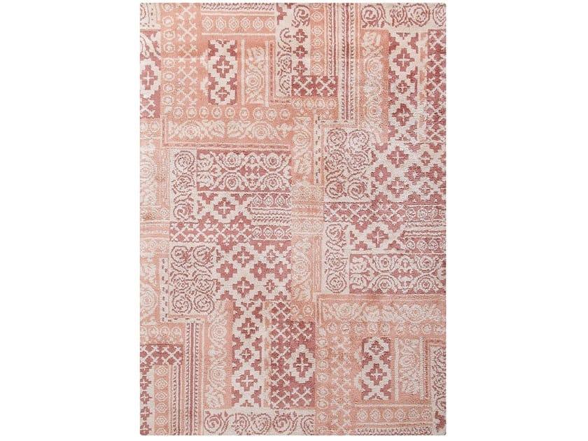 Rectangular cotton rug with geometric shapes TESSEL by Toulemonde Bochart