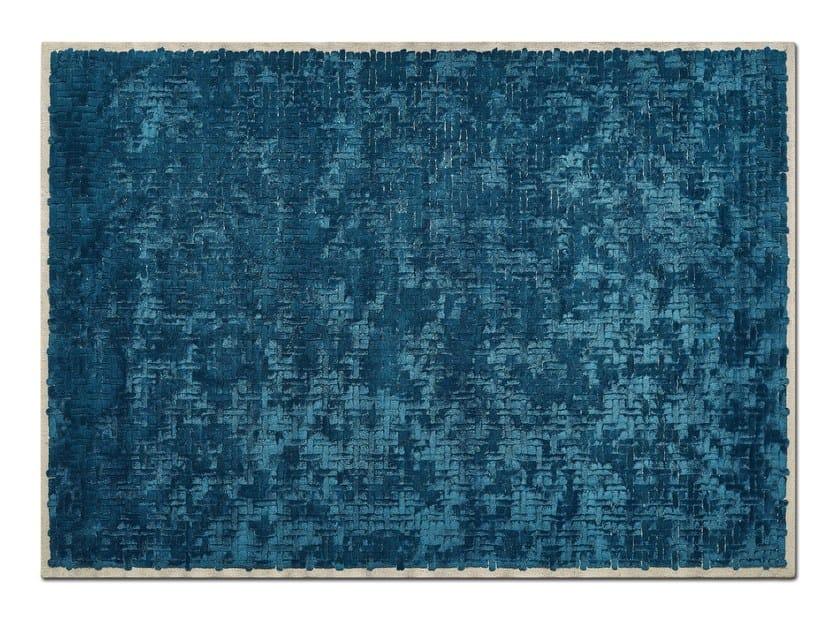 Handmade rectangular custom rug TESSERE by OT Oliver Treutlein