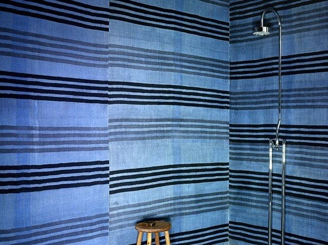 Shower fabric wall tiles TESSILE SHOWER by Rezina