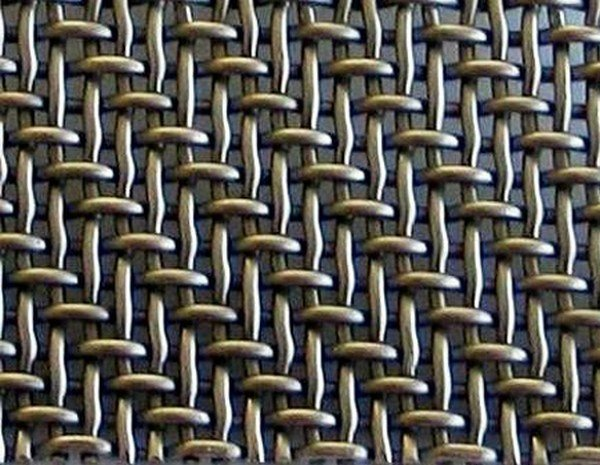 Wire mesh for industrial use CROSSED WEAVED WIRE MESH by TTM Rossi