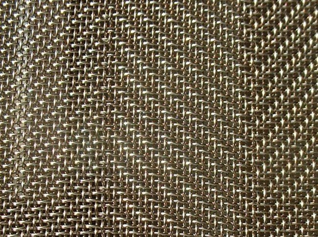 Wire mesh for industrial use CROSSED TWILLED WIRE MESH by TTM Rossi