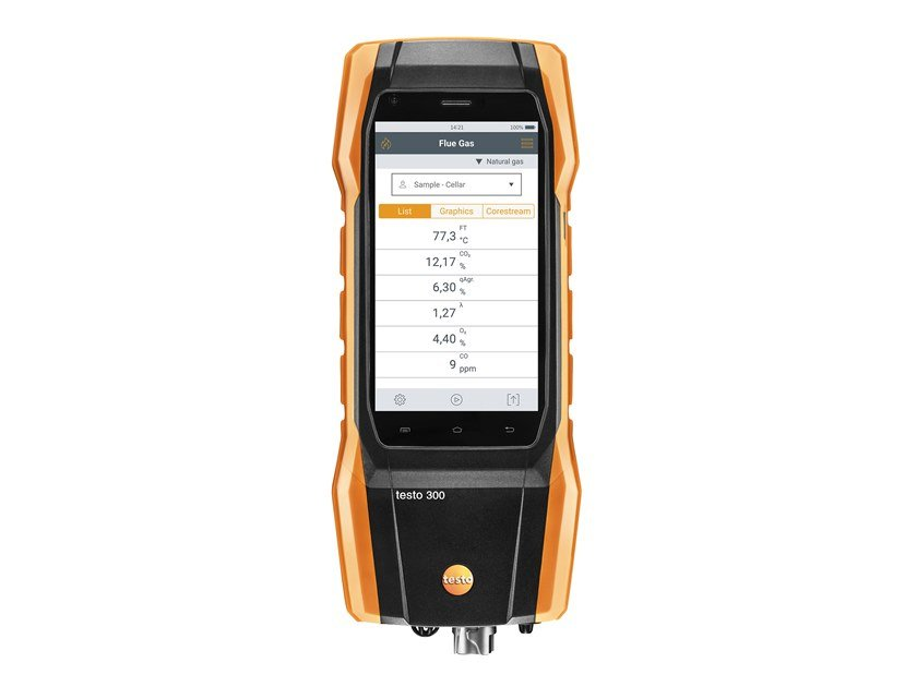 Measurement, control, thermographic and infrared instruments TESTO 300 by Testo